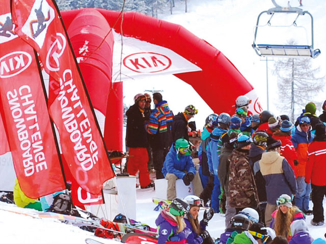 Snowboard Challenge Tour